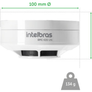 Detector de fumaça DFC 420 UN – Intelbras